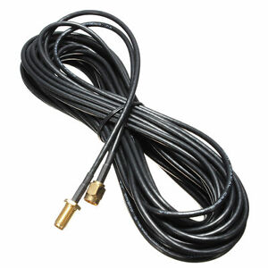 9M-30FT-Antenna-Extensions-Wi-Fi-WiFi-Routers-RP-SMA-RA-SMA-TV-Cord-CablesJH