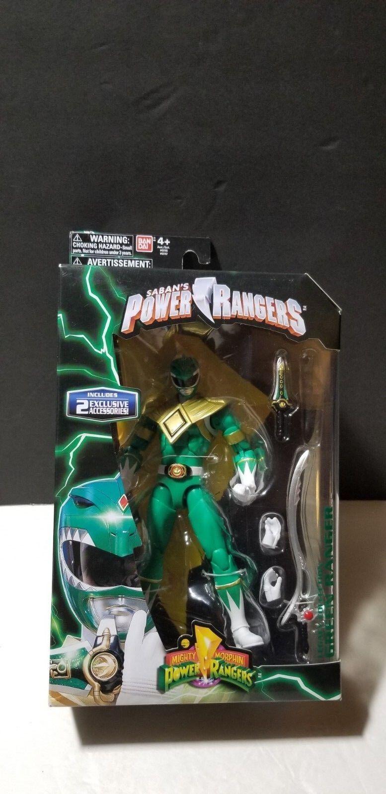BANDAI SABAN'S Mighty Morphin Power Ranger Legacy Collection Grün Ranger NEW