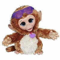 Furreal Friends Baby Cuddles My Giggly Monkey Pet Plush , New, Free Shipping