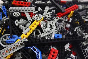 Lego® Technic Technik 200 Teile Sammlung Konvolut Zahnräder Lochbalken Pins uvm