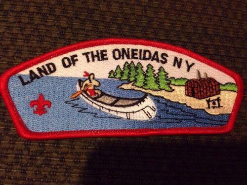 MINT CSP Land Of The Oneidas Council S-7a