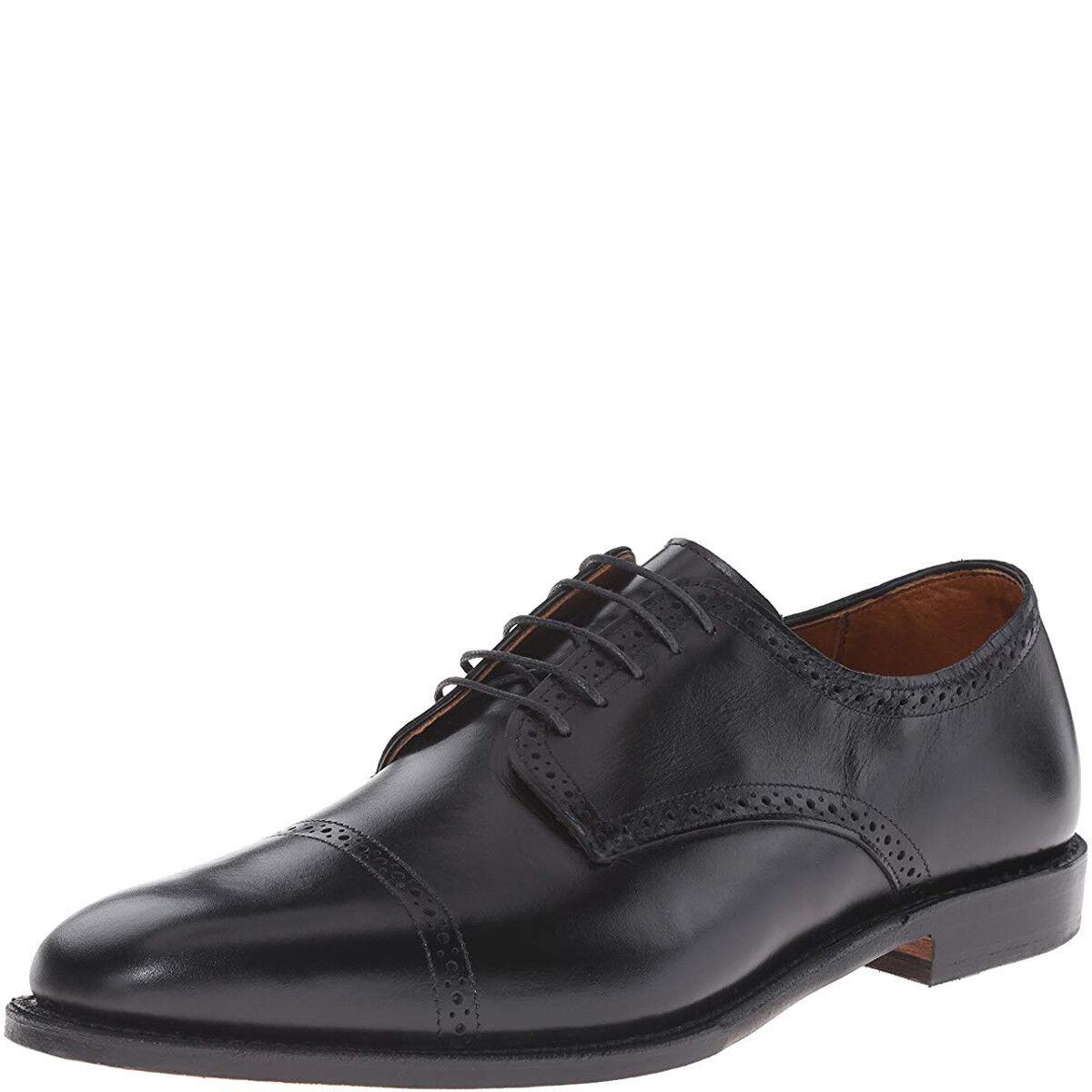 Allen Edmonds Mens Yorktown Oxford scarpe nero 8.5 D MSRP 395 New