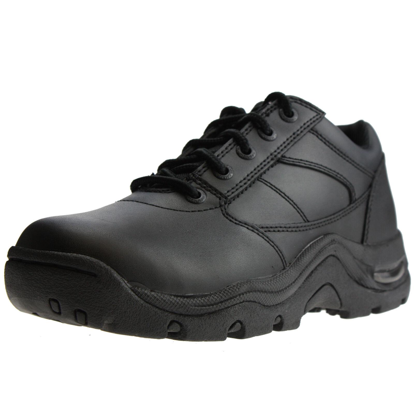 HI-TEC Magnum Viper Low Halbschuhe Einsatz Uniform Security Schuhe Halbschuhe Low schwarz Leder 5b45ff
