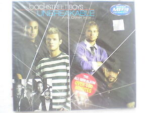 BackStreet-Boys-Unbreakable-Hits-mp3-CD-2007-100min-RARE-INDIA-HOLOGRAM-NEW