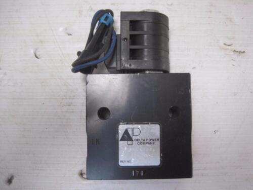 1916 Delta Power Company Flow Control Valve 24v 86060121 4810015373515 FREE Ship