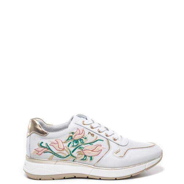 2019 Moda Scarpe Sneakers Donna Nero Giardini Originale P805254d 707 Pelle Pe 2018 Ampia Selezione;