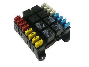 atc fuse box terminals atc ato blade fuse and mini relay block panel holder 12v ...