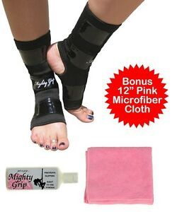 Pink cloth mighty grip powder pole dance tacky ankle protectors 3 items ebay - Grip xpert plus ...