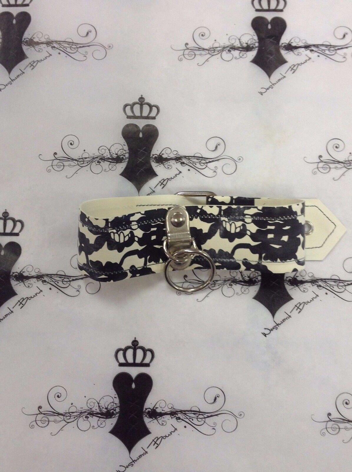 R1642 Lace Latex Latex Latex Westward Bound COLLAR Weiß SMALL Seconds  | Toy Story  | Erste in seiner Klasse  | Lass unsere Waren in die Welt gehen  383978