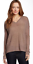 Nwt Cashmere Long Neck Sleeve Zen Sweater 287 V Champignon x6g0pqaA