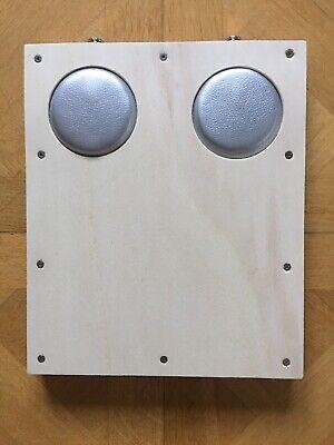 "Stomp Box /""BUMM-Chuck/"" Groove Station II X-2 eDrum Pad für Drum-Module"