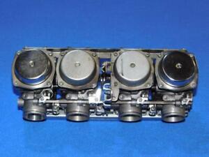 Honda-CB-750-Seven-Fifty-RC42-92-03-65-3-Vergaser-Vergaserbank-komplett