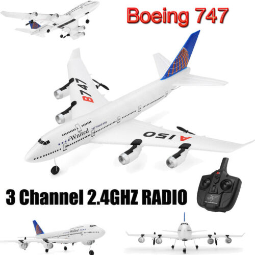Boeing 747 2.4G 3CH RC Airplane Remote Control Glider Aircra