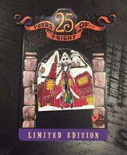 Disney 25 Years Of Fright Jack Skellington Annual Passholder Hinge Pin LE 4000
