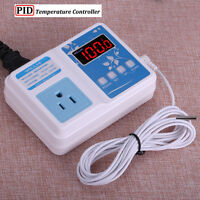 110v 220v Pid Digital F/c Temperature Controller Thermostat Control Us Outlet