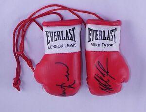 Signiert Mini Boxhandschuhe Vitali Klitschko Memorabilia