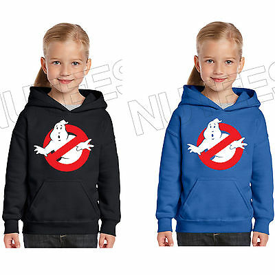 Ghost Busters Film Ispirato Bambini Unisex Felpa Con Cappuccio 5-6 A 12-13-mostra Il Titolo Originale Estremamente Efficiente Nel Preservare Il Calore