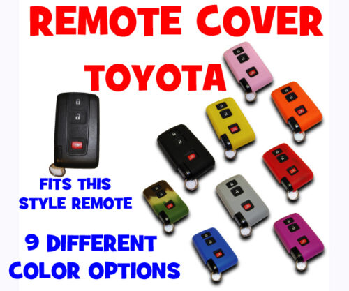 TOYOTA PRIUS 2004 THRU 2009 REMOTE COVER JACKET 9 COLORS AVAILABLE