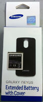 Samsung Etc-i515bbgsta Verizon Galaxy Nexus Extended Battery Bundle Retail Black