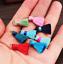 10pcs Mini artificial silk Tassel Metal ring DIY jewelry accessories Tassels 2cm