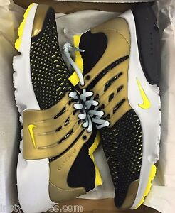 Nike Air Presto Black And Gold