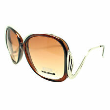 Women's Sunglasses WINGS CUTE OVERSIZED CELEBRITY Style BROWN