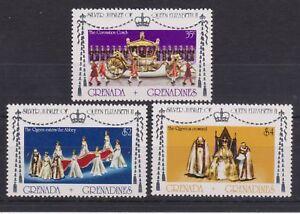 QEII 1977 Silver Jubilee MNH Stamp Set Grenada Grenadines SG 215217 - St Austell, Cornwall, United Kingdom - QEII 1977 Silver Jubilee MNH Stamp Set Grenada Grenadines SG 215217 - St Austell, Cornwall, United Kingdom