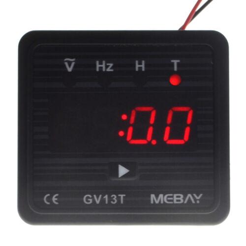 BC-GV13T Gasoline Generator Digital Meter Volt Meter Frequency Tester Hour Meter