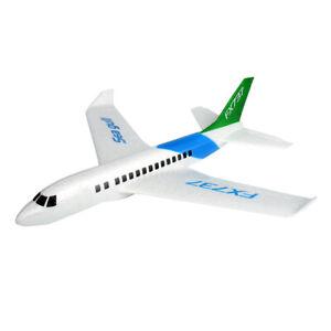 Schaumwurfgleiter-Styroporflieger-Schaum-Fliegender-Gleiter-Flugzeug-Wurfgleiter