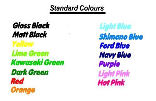 350mm x 38mm choose your colour. decal pair Scott vinyl cut sticker