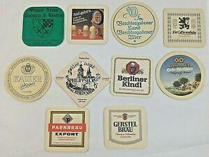 Vintage Duck Beer Coasters Set of 2 1970s