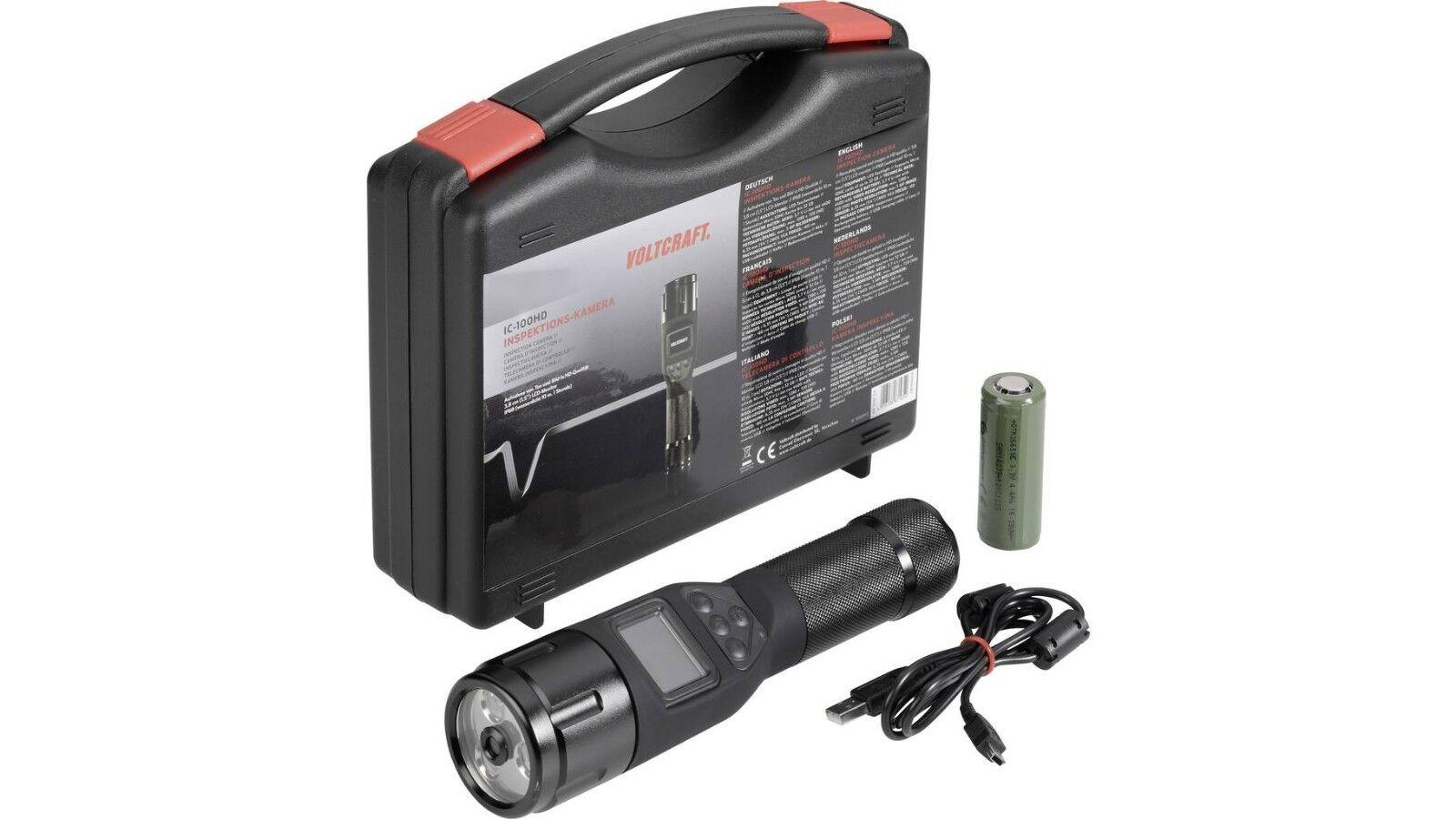 NP: ,MIT RECHNUNG,Power-LED Taschenlampe Taschenlampe RECHNUNG,Power-LED integr. HD-Kamera,IP68,wasserdicht 1c147b
