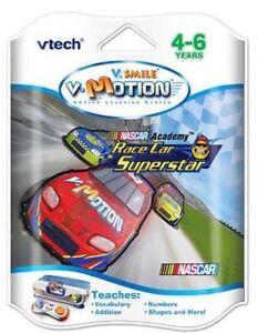 VTech-V-Smile-V-Motion-Active-Nascar-Race-Car-Superstar-Ages-4-6-Learning-Syste