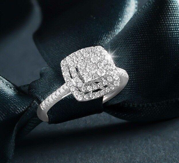 Diamond Engagement Ring Wedding Band Bridal Ring