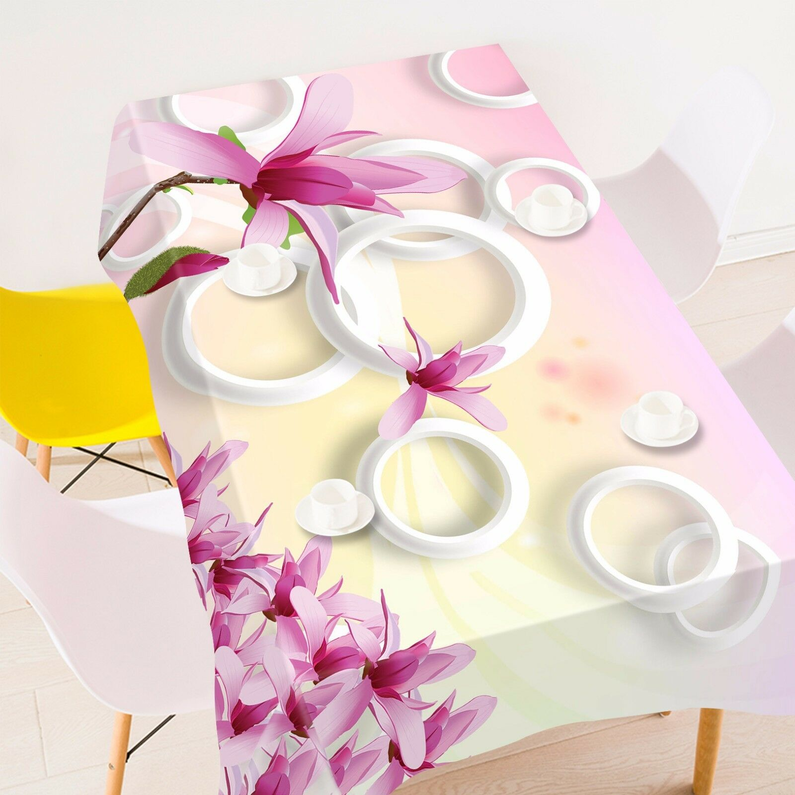 3D Flower 400 Tablecloth Table Cover Cloth Birthday Party Event AJ WALLPAPER AU