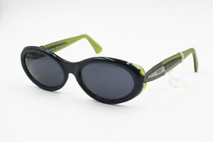 Charmant Elisabetta Von Furstenberg Mf 97 Oval Womens Sunglasses Blue & Green Riche En Splendeur PoéTique Et Picturale