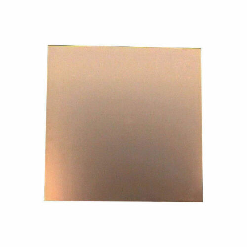Blank PCB Fibreglass 300 x 300mm Single Sided