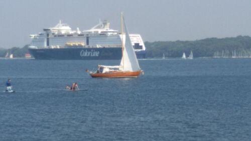 Segelboote Segelyacht Vindö 30 Mahagoni Holzrumpf.