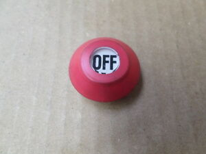 Electromotive-Systems-Inc-WC-R-Red-OFF-Boot-For-Yale-Hoist-Pushbutton-Station
