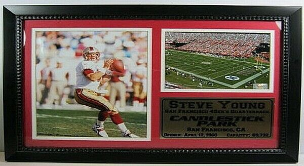 Steve Young San Francisco 49Ers 49Ers 49Ers NFL Fútbol, 50Cm Mural, Memorabilia, Nuevo 4402d4