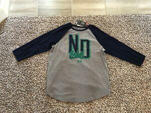 Under-Armour-NCAA-Womens-Notre-Dame-Irish-Charged-Cotton-Softball-Tee