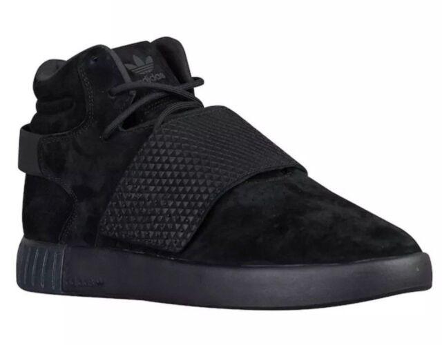 buy popular b18cc 8fd30 adidas Originals Tubular Invader Strap Black Men 11.5 Lifestyle Bb1169