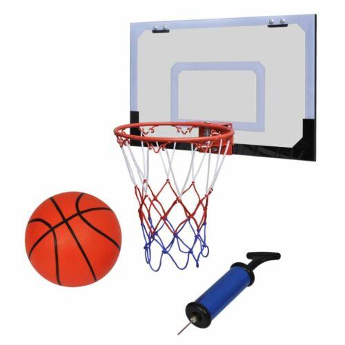 vidaXL Mini Panier Basket Ball avec Ballon et Pompe Maison Jouet d'Enfant