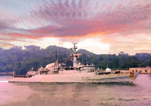 "HMS emboscada/"" 82 retorno/"" Edición Limitada Arte 25"