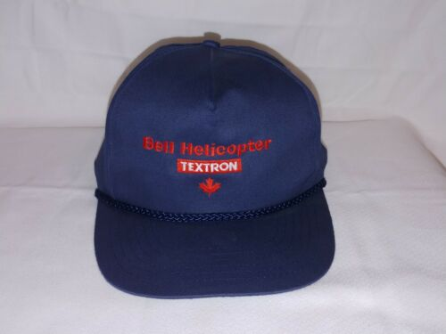 Bell Helicopter Textron Corded Snap back Hat w/ Ma