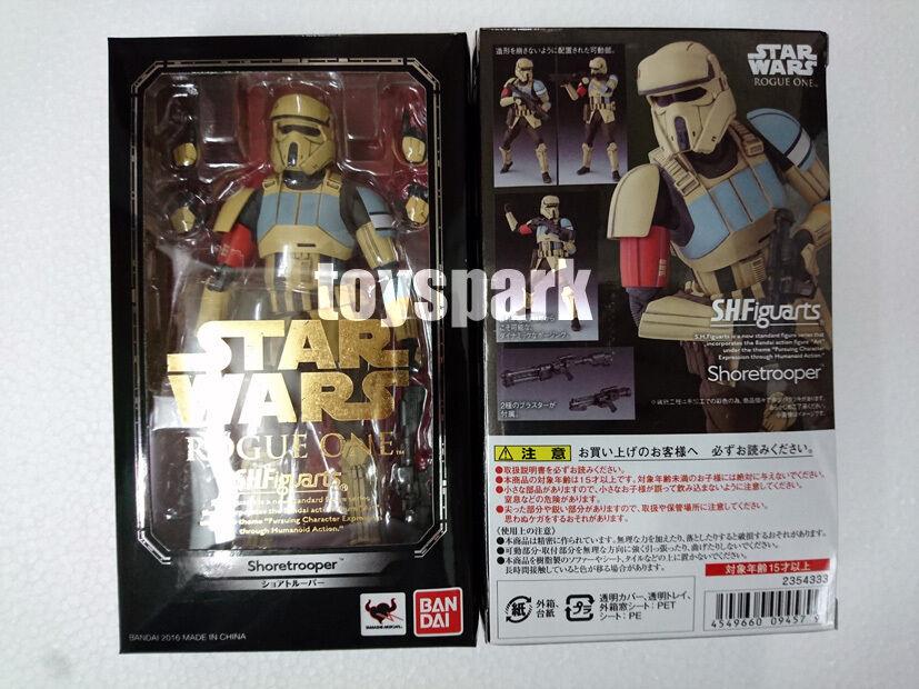S.h.Figuarts Star Wars Rogue One SCARIF STORMTROOPER Shoretrooper action figure