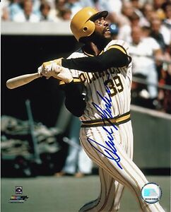 Dave Parker Autographed 8x10 Pittsburgh Pirates Free Shipping  #1