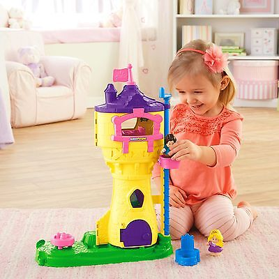 Disney Princess Rapunzel's Tower by Little People
