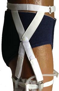 Image Is Loading Secure Comfort Catheter Leg Bag Holder