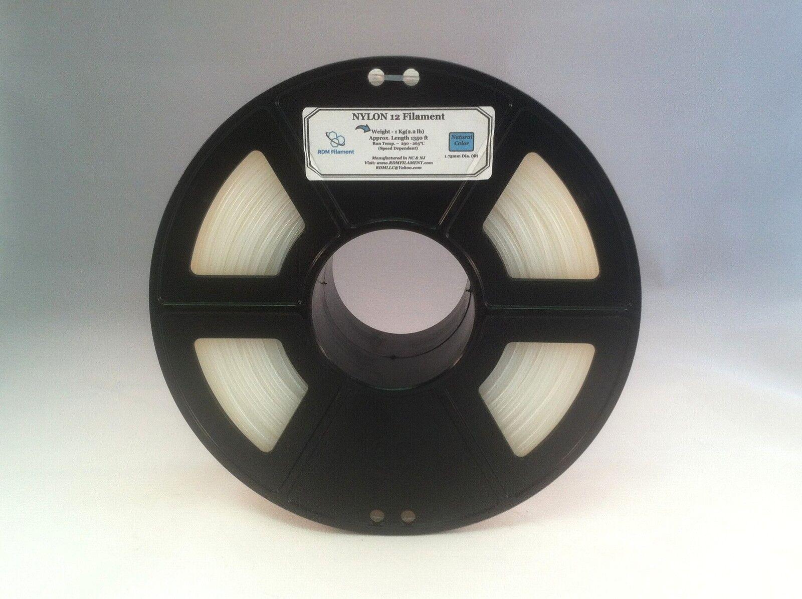 Nylon 12 Filament 1KG   HUGE PRICE DROP   + FREE 5ml sample of FUBAR GLUE!!!